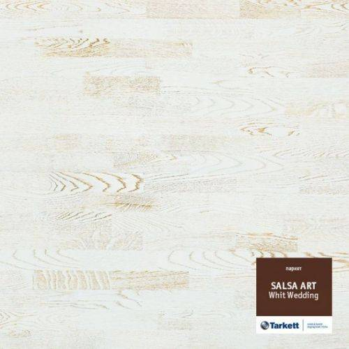 White Wedding в Salsa Art (трёхполоска) от Tarkett купить в Харькове